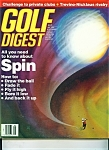 Golf Digest magazine - May 1990