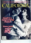 Click here to enlarge image and see more about item J6389a: California magazine -  April 1989