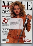 Click here to enlarge image and see more about item J6420: Vogue SPANISH MAGAZINE -  March 2003