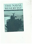 Click here to enlarge image and see more about item J6485a: The Naval Reservist booklet -  October 1987