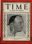 Click here to enlarge image and see more about item J6491: Time Magazine- August 26, 1935