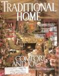 Click here to enlarge image and see more about item J6553D: Traditional Home magazine -  Holiday 2000