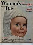 Click here to enlarge image and see more about item J6776: Woman's Day - January 1959