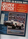 Click here to enlarge image and see more about item J6933: Super Stock & drag illustrated - December 1975