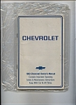 Chevrolet - 1983 Owners Manual