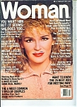 Click here to enlarge image and see more about item J7050a: Woman Magazine- February 1989