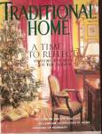 Click here to enlarge image and see more about item J7051B: Traditional Home -  Holiday 1999