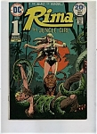 Rima the Jungle girl - DC comics - April/May 1974
