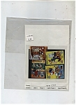 Click here to enlarge image and see more about item J7075: Antigua and Barbuda stamps = Mickey Mouse