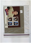Click here to enlarge image and see more about item J7082: St. Vincent Stamps Souvenir Sheet Elvis Presley