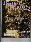 Click here to enlarge image and see more about item J7134: Better Homes & Gardens July   1998