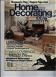 Click here to enlarge image and see more about item J7149: Woman's day - Home Decorating Ideas - June 1985
