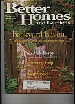 Click here to enlarge image and see more about item J7159: Better Homes and Gardens - May 1999