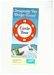Click here to enlarge image and see more about item J7195a: Chesapeake Bay Bridge Tunnel circle tour - MCMLXXI