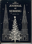 Click here to enlarge image and see more about item J7593: Journal of Nursing- Christmas 1958
