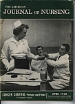 Click here to enlarge image and see more about item J7594: Journal of Nursing - April 1958