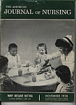 Click here to enlarge image and see more about item J7596: Journal of Nursing - November 1958