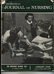 Click here to enlarge image and see more about item J7599: Journal of Nursing - January 1959