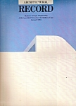 Architectural Record -(McGraw-Hill) January 1984