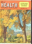 Click here to enlarge image and see more about item J7735a: Life and Health magazine- October 1952