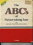 Click here to enlarge image and see more about item J7737: The  ABC's of picture taking ease - 1985