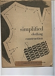 Simplified clothing construction - Issued March 1959