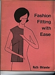 Click here to enlarge image and see more about item J7840: Fashion Fitting with Ease by Ruth Oblander -