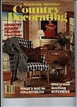 COUNTRY DECORATING   - Spring 1988