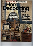 Click here to enlarge image and see more about item J7911: Home Decorating Ideas - October 1986