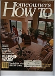 Homeowners HOW TO  - Nov/Dec 1980