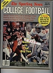 Click here to enlarge image and see more about item J8040: The Sporting News College Football - 1984