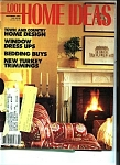 Click here to enlarge image and see more about item J8086: 1,001 HOME IDEAS - November 1987