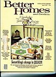 Better Homes and Gardens  Magazine- April 1977