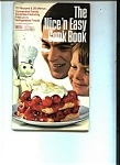 Click here to enlarge image and see more about item J8277: The Nice 'n Easy cook book by Pillsbury