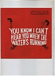 Click here to enlarge image and see more about item J8360: 1969 Can't Hear When Water's Running THEATRE Program AD