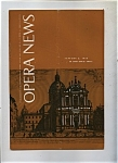 Click here to enlarge image and see more about item J8369: Opera News - January 2, 1956