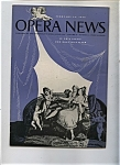 Click here to enlarge image and see more about item J8371: Opera News - February 13, 1956