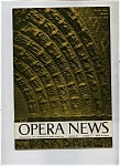 Click here to enlarge image and see more about item J8372: Opera News - December 24, 1956
