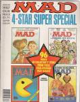 Click here to enlarge image and see more about item J8407KK: Mad magazine - 4 star super special - Winter 1987