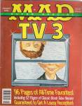 Click here to enlarge image and see more about item J8407P: MAD MAGAZINE   TV 3 -  JANUARY 1992