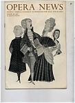 Opera News - January 23, 1960