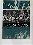 Opera News - November 5, 1956