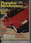 Click here to enlarge image and see more about item J8556: Popular Mechanics - October 1985