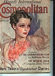 Click here to enlarge image and see more about item J8705: Cosmopolitan - August 1935