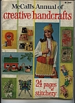 Click here to enlarge image and see more about item J8895: McCall's annual of Creative Handcrafts - copyright 1970