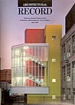 Architectural  Record -  (McGraw-Hill) May 1989