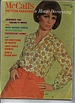 McCall's Pattern fashions & Home decorating -1966