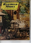 Railroad Model Craftsman Magazine- October 1973