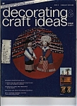 Click here to enlarge image and see more about item J9114: Decorating & craft ideas magazine- February 1975