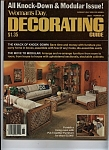 Click here to enlarge image and see more about item J9115: Woman's Day Decorating guide -   January 1978